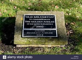 memorial plaques elizabeth ii jubilee memorial plaques milverton