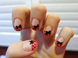 minnie mouse chalkboard nails nail art blog