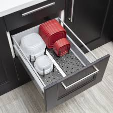 amazon umbra peggy kitchen cupboard shelf and drawer amazon umbra peggy kitchen cupboard shelf and drawer organizer tray adjustable storage system for food containers cookware serveware utensils