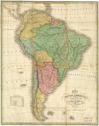 south america map buy historical map of south america 1826