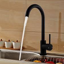 Kitchen Sinks Brisbane by Kitchen Laundry Gooseneck Mixer Tap In Black 350mm Buy Sale