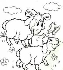 animals babies coloring pages funnycrafts