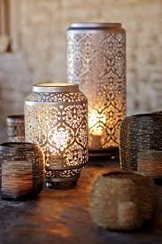 metal home decorating accents lantern punched metal accent l world market lights impressive