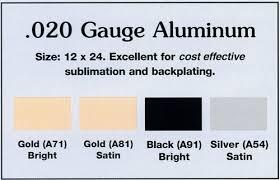 cost of alum 020 aluminum