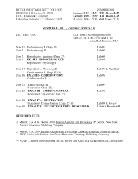 Pearson Anatomy And Physiology Lab Manual Bio 111 Schedule 2011 Tr