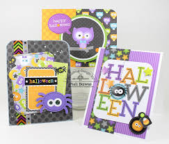 halloween card ideas doodlebug design inc blog october 31st collection halloween