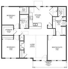 single house plans without garage 3 bedroom house plans no garage single 4 bedroom 2 bath house