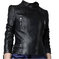 motorcycle biker jacket faux zip up short biker jacket coat bomber outerwear motorcycle