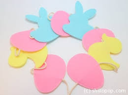 Easter Decorations From Felt by Felt Toys From Shill O Pop Easter Felt Decoration Cozy Garland