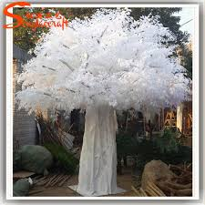 artificial white birch trees wedding white plastic trees
