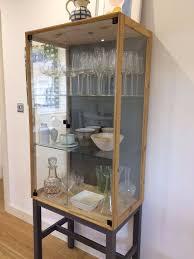 curio cabinet curioage cabinet amazon com upton home phone booth