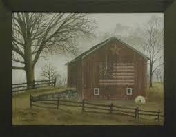 Barn Wall Decor Country And Primitive Wall Decor U0027flag Barn U0027 Framed Print By
