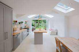beautiful extension with clean lines and a great connection with