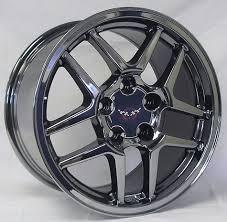 chrome corvette wheels 17 black chrome corvette z06 wheels 17x9 5 zo6