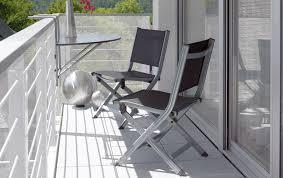 balkon tische balkonmöbel aus rattan holz oder metall schöner wohnen