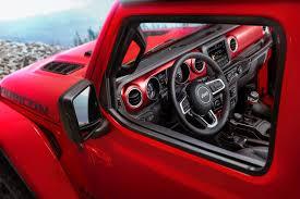 jeep chief interior 2018 jeep wrangler interior photos released the torque report