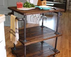 Kitchen Cart Table by Kitchen Islands Etsy