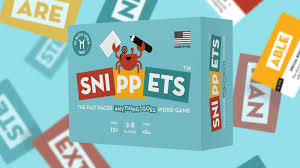 snippets the fast paced anything goes word game by shaun