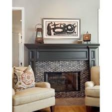Black Paint For Fireplace Interior Fireplace Is Sherwin Williams Black Fox Satin Sheen Oil Based