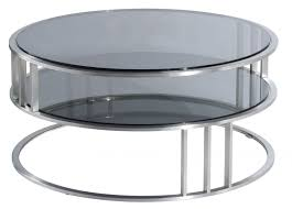 Metal And Glass Coffee Table Coffee Tables Exquisite Furniture Contemporary Modern Round