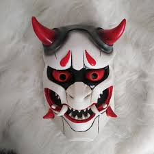aliexpress com buy genji skin oni mask halloween fancy ball mask