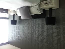 black gray and silver walls ceiling with glitter i already