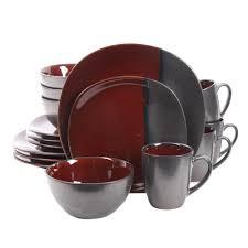 gibson elite volterra 16 stoneware dinnerware set