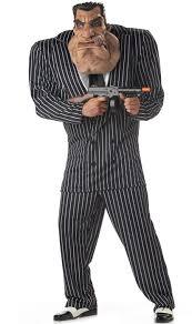 Mobster Halloween Costumes Massive Mobster Men U0027s Funny Gangster Costume