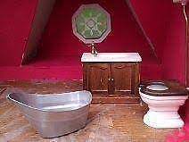 Dolls House Bathroom Furniture Dolls House Bathroom Ebay