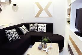 Black Sofa Pillows by Small Space Ideas For A 34sqm Condo In Makati Throw Pillows