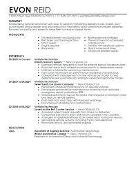 mechanic resume template resume for diesel mechanic auto mechanic resume sle template
