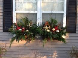 Christmas Window Box Decorations by Holiday Window Boxes Window Box Ideas Pinterest Window Box