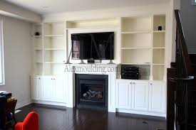 Fireplace With Built In Cabinets 19 Living Room With Fireplace And Bookshelves Build In Wall