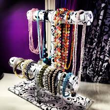 jewelry necklace holder stand images Diy bracelet necklace stand theeasydiy roomdecor jpg