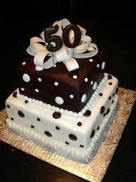 2 tier 50th birthday cake a birthday cake