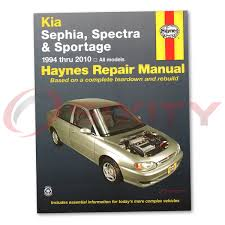 kia sportage repair manual what to look for when buying kia