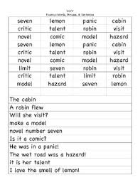 cv v vc v cv and vc v word and syllable sorts by small tpt