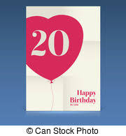 vectors of happy birthday poster template design with delicious