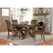 liberty furniture bayside 5 piece trestle table set lindy u0027s