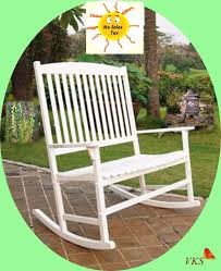 double rocking chair outdoor wood 2 seat backyard patio garden