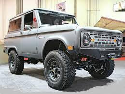 icon bronco bronco ford bronco custom suv tuning