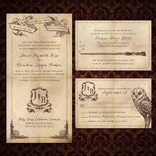 harry potter wedding invitations custom we solemnly swear harry potter inspired wedding