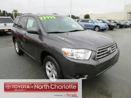 used car toyota highlander find reliable used cars in n toyota