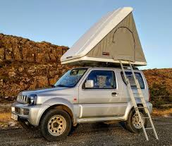 tent rental island rent a suzuki jimny roof tent in iceland northbound is