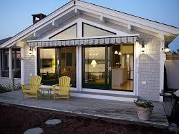 Contemporary Retractable Awnings Design Ideas Gorgeous Retractable Awnings With Striped Awning And