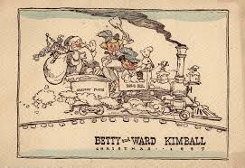 brown christmas cards 23 creative christmas cards by disney legend ward kimball