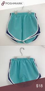 light blue nike shorts nike blue running shorts light blue royal blue sides nike shorts