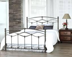 wrought iron king bed frame u2013 feei info