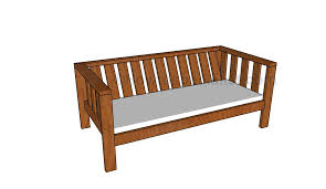 outdoor sofa plans howtospecialist how to build step by step