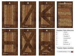Barn Door Designs Barn Style Interior Doors Vibrant Design Door Styles